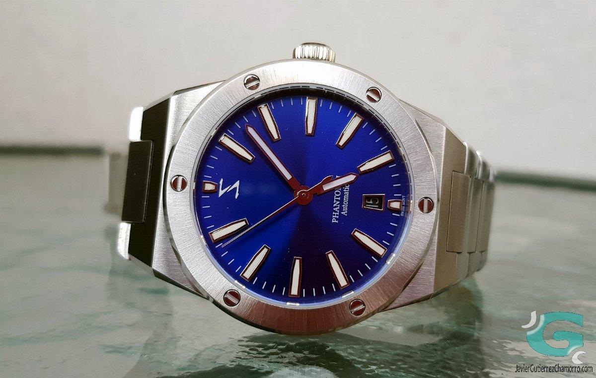 Spectre Time Phantom II Blue SunBurst
