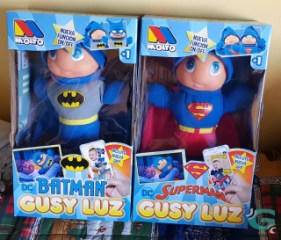 Gusy Luz Batman, Superman y su historia