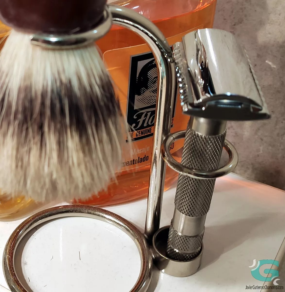 After-shaves Epsilon y Perfect Shave