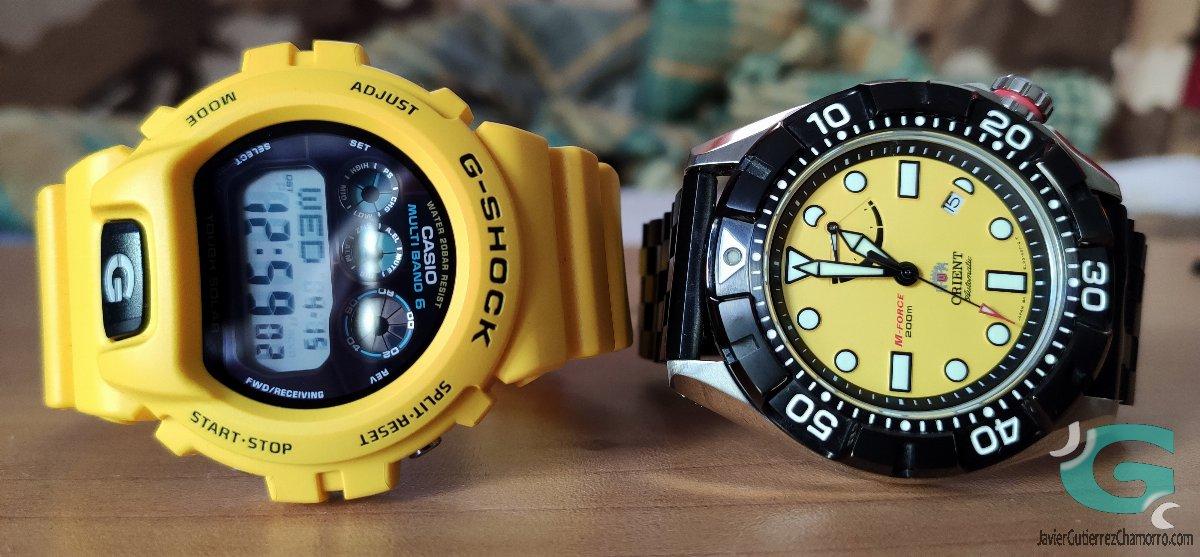 El color amarillo