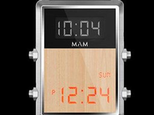 MAM Originals dice que tiene el reloj de Regreso al Futuro