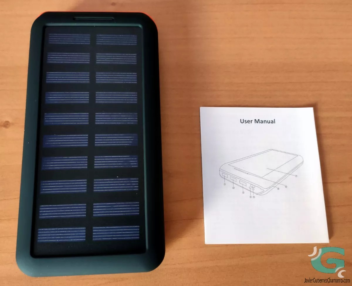 Powerbank solar Kedron 24000mAh