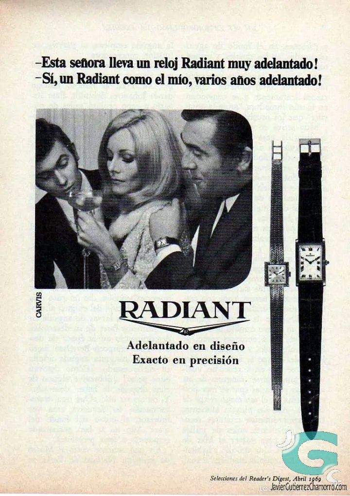 Radiant fusila el Casio W-59