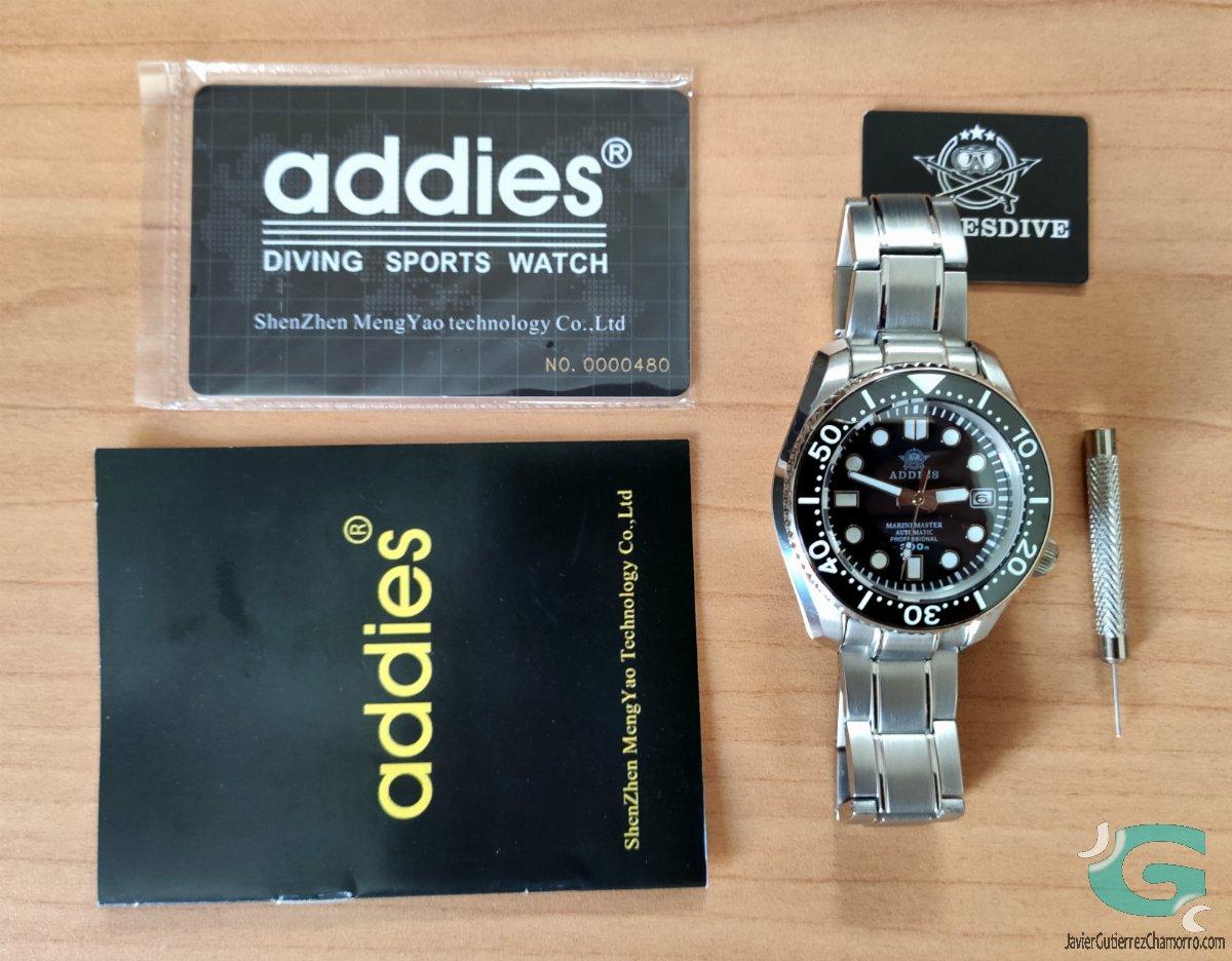 Addies 1968 (Steeldive AE1968/SD1968)