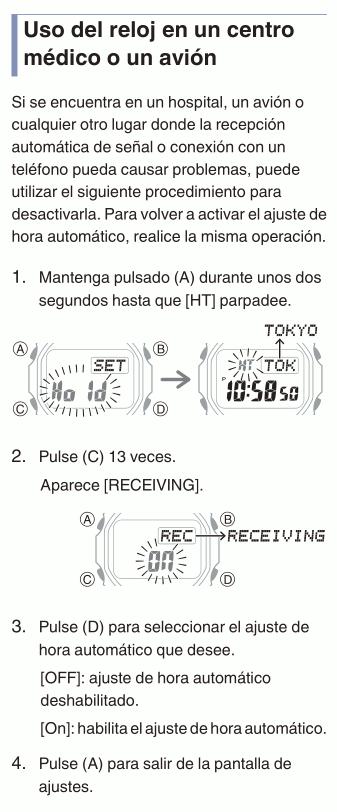 Alto consumo energético en relojes Casio con Bluetooth: Problema resuelto