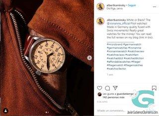 Reviewers que venden relojes