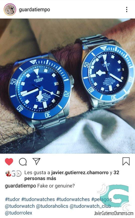 ¿Sabe un aficionado distinguir un reloj falso?