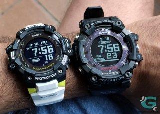 Comparativa Casio G-Shock GBD-H1000 contra GPR-B1000