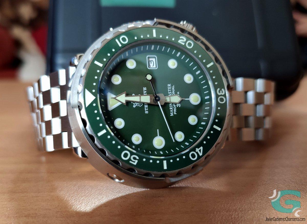 Steeldive Green Marine SD1975/GM1975
