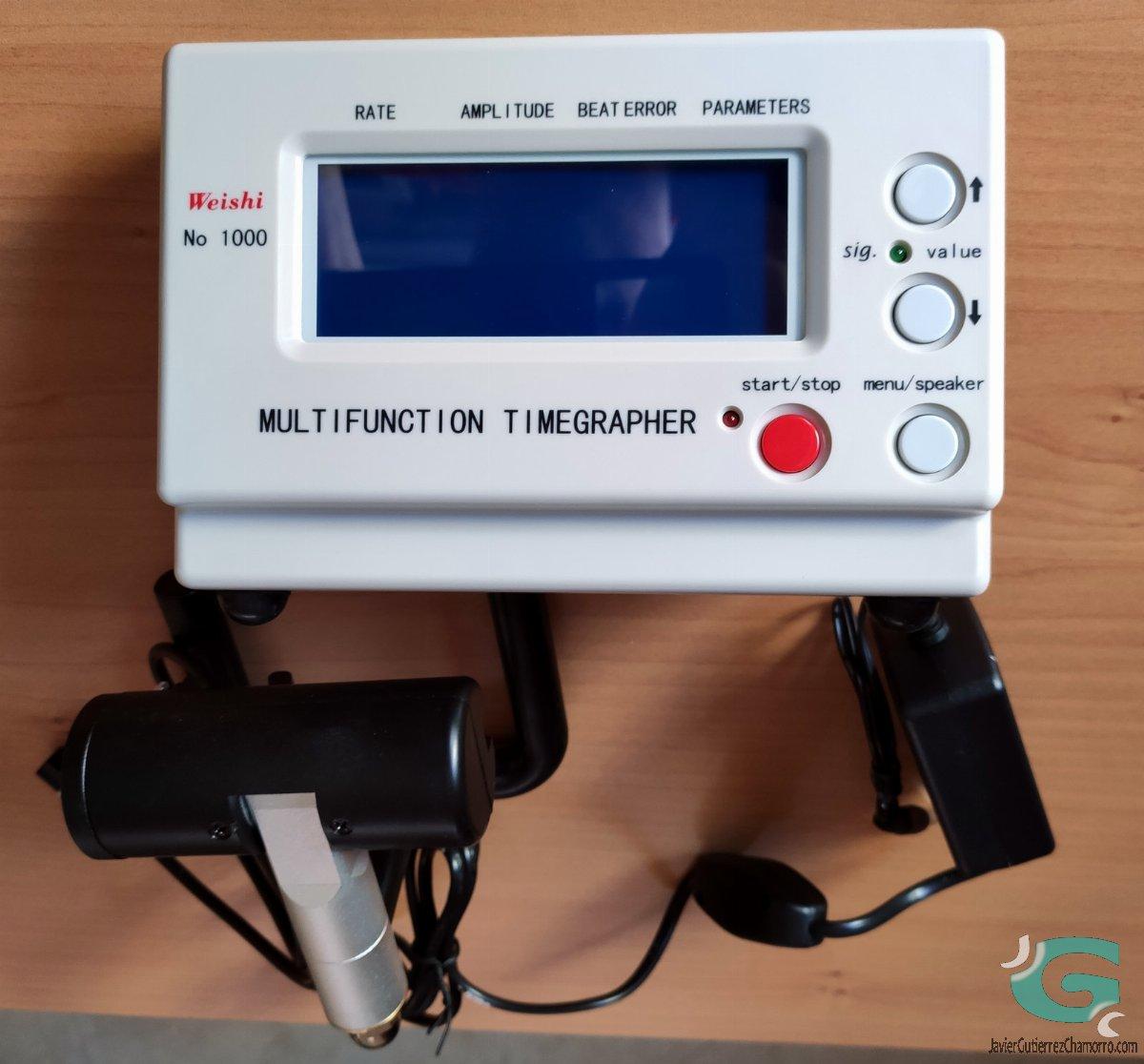 Weishi timegrapher NO 1000 / MTG1000