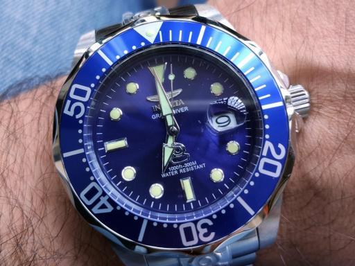 Invicta Grand Diver 3045