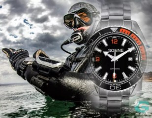Sonne Watches Germany Super Dive 1000M, impresentables de principio a fin