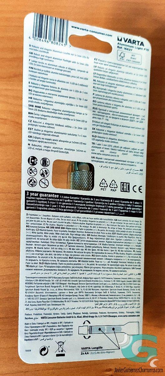 Varta Aluminium Light F10