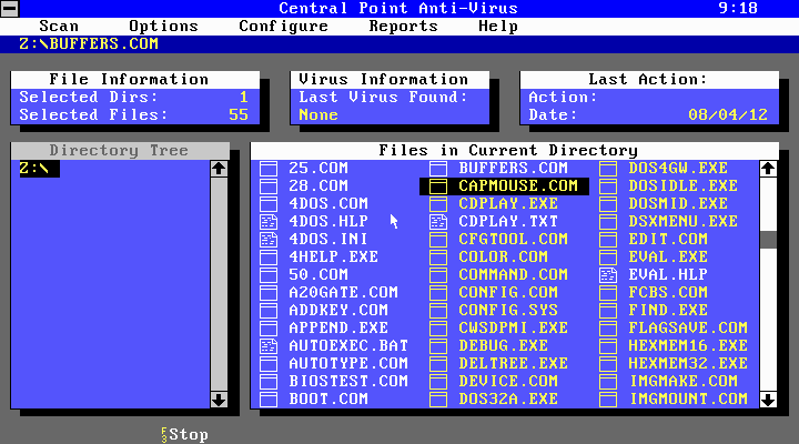 Turbo Antivirus, CPAV y MSAV