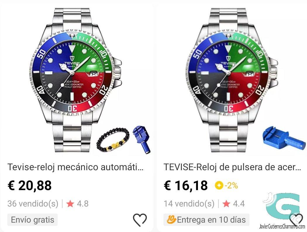 Wollku Unisex los relojes del Photoshop