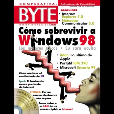 Portada Byte noviembre 1998