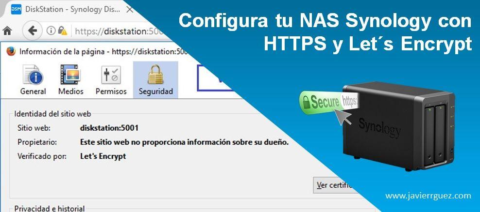 Configura tu NAS Synology con HTTPS y Let´s Encrypt