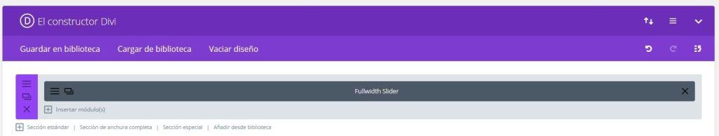Fullwidth Slider