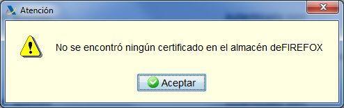 Error Programa Padre Firefox