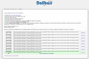Actualización de Dolibarr 3.8.1 Paso 1