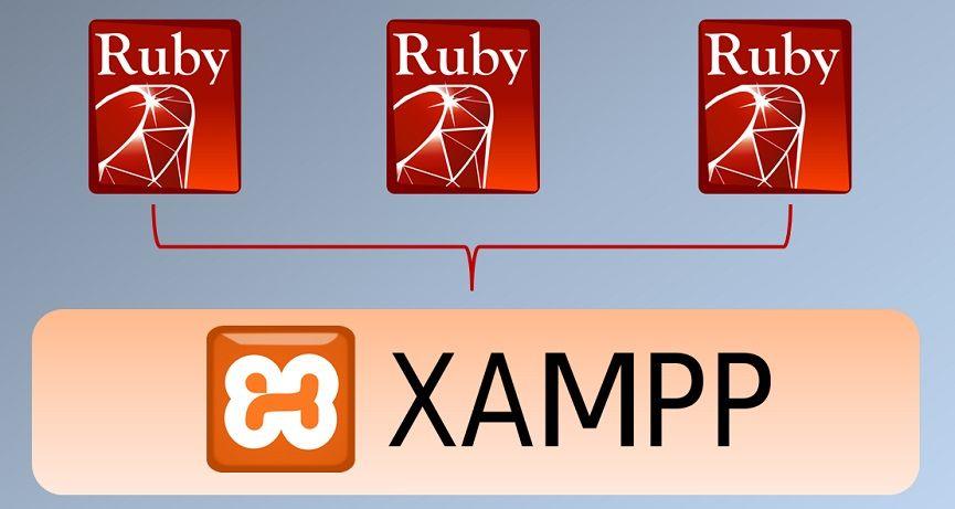 Varias versiones de Ruby en Xampp