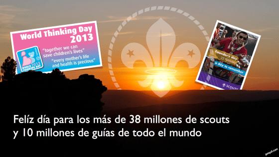 Día del Fundador y del Pensamiento 2013