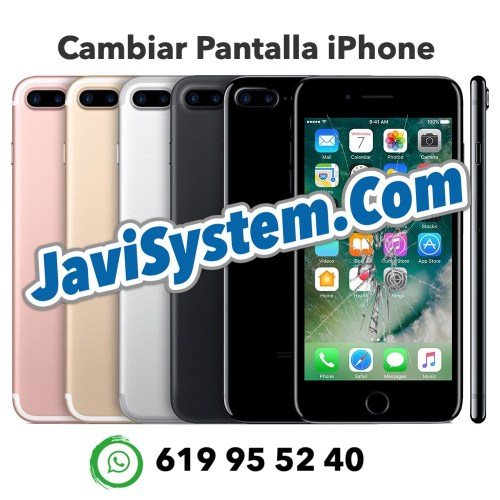 Cambio de pantalla rota iPhone 7 Plus
