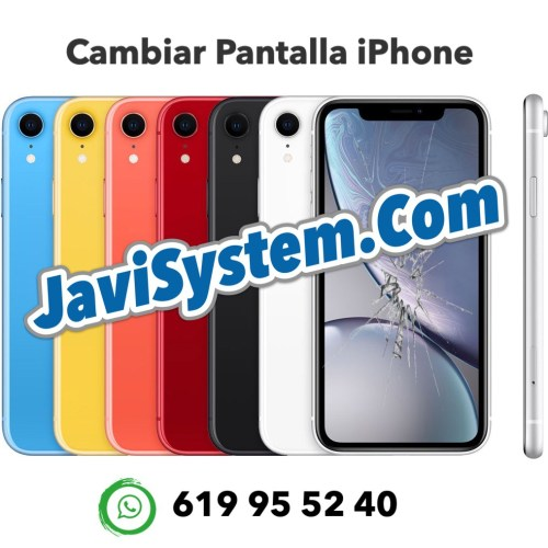 Cambio de pantalla rota iPhone XR
