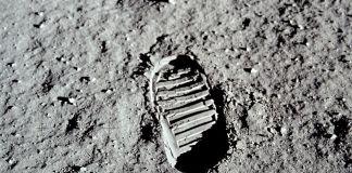 Huella de Neil Armstrong en la luna