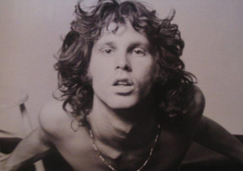 Jim Morrison en la sesión fotográfica del