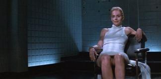 """La famosa escena de """"Instinto Básico"""" (""""Basic Instinct"""", 1992)"""