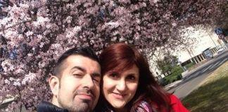 Primeros cerezos en flor. Marzo de 2015