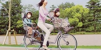 Normas para circular en bicicleta por Japón