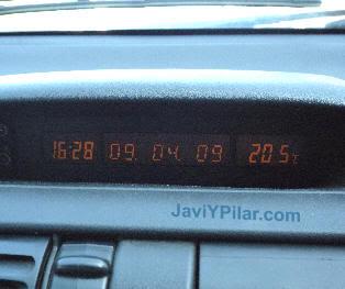 En el coche con Juan