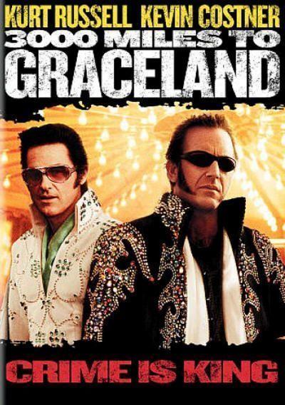 """Cartel de """"Los Reyes del Crimen"""" (""""3.000 Miles to Graceland"""", 2001)"""