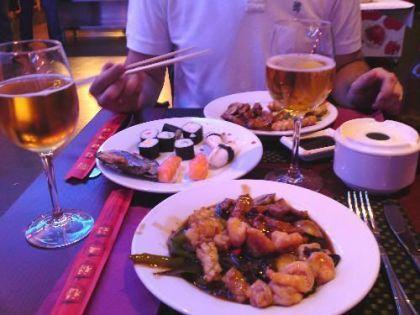 Comida china y japonesa en Cantarranas