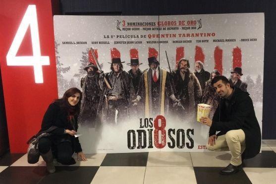 """En el cine, para ver """"Los Odiosos Ocho"""" (""""The Hateful Eight"""", 2015)"""