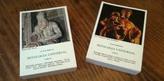 """""""Mitología Universal"""" de Juan B. Bergua"""