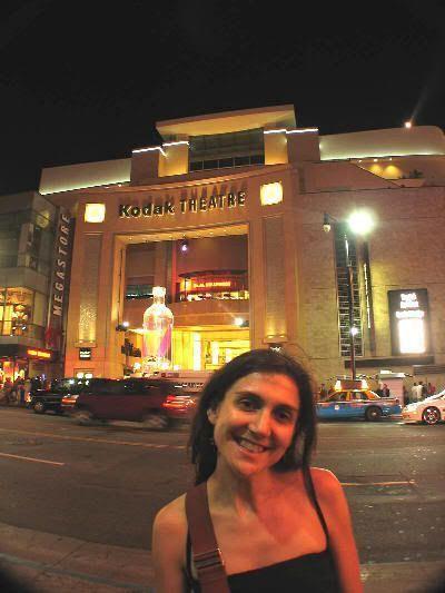 A las puertas del Teatro Kodak ¡¡ y sin recibir estatuilla !!