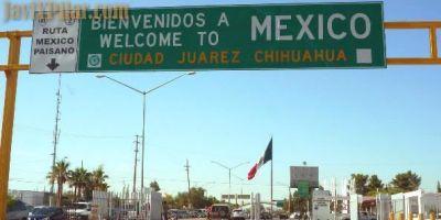 Entrando en Ciudad Juárez