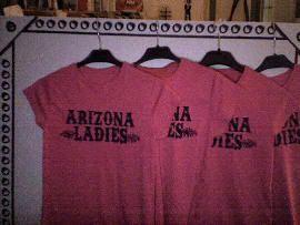Camisetas de Arizona Ladies