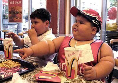 Niños gordos en Estados Unidos