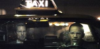 "Tom Cruise y Jamie Foxx en ""Collateral"" (2004)"