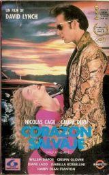 """Cartel de la película """"Corazón Salvaje"""""""