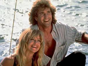 "Mel Gibson y Goldie Hawn en ""Dos Pájaros a Tiro"" (""Bird On a Wire"", 1990)"