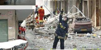 Explosión de gas en Palencia