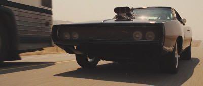 El Dodge Charger de Toretto en Fast Five