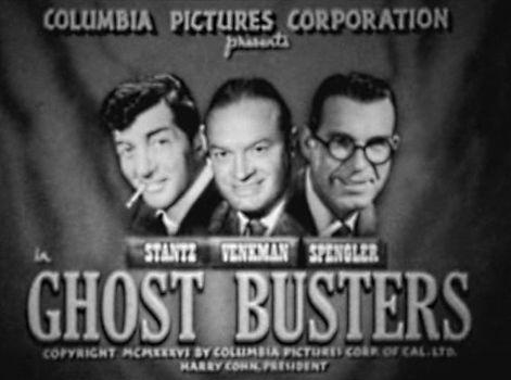 """¿Cómo sería la película """"Cazafantasmas"""" si se hubiera estrenado en 1954?"""