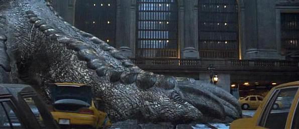Godzilla paseando por Nueva York (Godzilla, 1998)
