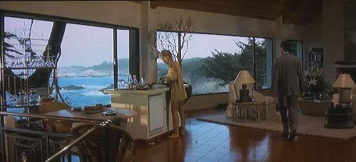 "La impresionante casa de la playa en ""Instinto Básico"" (""Basic Instinct"", 1992)"